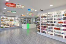 Pharmacy design / Pharmacy construction - decoration