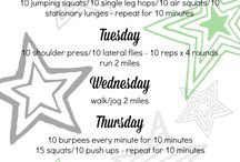 Workouts / by Christa Gifford
