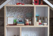 dolls houses etc
