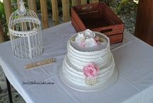 Wedding Cakes I want to Make / by Carolyn Brockman