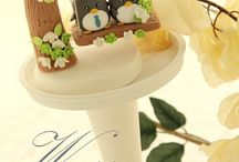 Cute cake toppers >////<