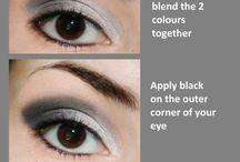 Makeup and face
