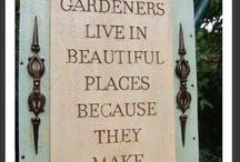 Gardens / by Diane Blanc