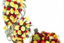 Buy Fresh Flowers and Fruits Online and Send it to India / Wishes are very important on all occasions and being away from loved ones is no reason why one cannot be a part of their celebrations. If you think you cannot personally visit your family and friends, then be a part of their celebration by sending gifts from FlowersCakesOnline.com