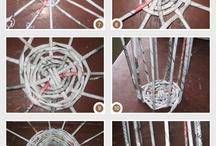 DIY Плетение из бумаги