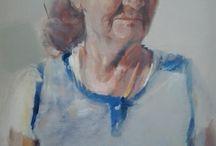 """Pintura al óleo. serie """"Paisajes humanos"""" / Obras de Fernández Hurtado  https://fernandez-hurtado-galeria-de-arte-online.myshopify.com/collections/paisajes-humanos"""