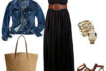 outfit - Black Maxi