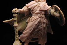 Escultura em miniaturas