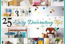 25 Easy Decorating Tips / by The Cottage Market