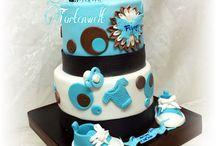 Tauftorte Baptism cake baby