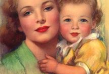 cartes fête des mères / mother day / carte homemade
