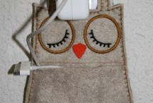 cell phone holder owl