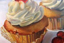 Sweet Drawings / sweet drawings of sweet foods!