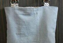 Táskák fakarikás táska
