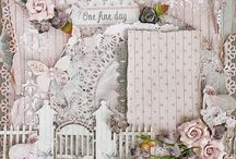 shabby chic scrapping