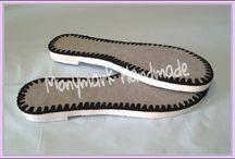 Háčkované boty