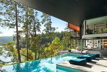 Moderne zwembaden