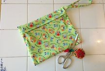 Cloth pads and Wet Bags