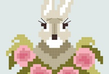 Cross stitch-animal