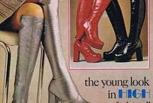 """[70s] Disco / After the anti-materialistic counter-culture of the 1960s, disco was a movement of excess, in reaction to the economic crisis of the 1970s. Second-skin leotards and leggings reflected the growth of the """"body beautiful"""" fitness craze, while models like Jerry Hall and Marie Helvin, in clinging Halston halter-neck dresses, exemplified the more sophisticated end of the look."""