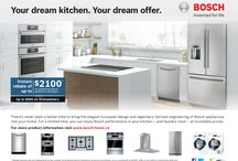 Bosch Appliance Promos at Avenue Appliance / Call to request a quote on our home & kitchen appliances. Make sure to ask about our Bosch appliance promotions & more to see if your purchase is eligible for any discounts or rebates.