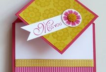 Stampin' Stuff-Fun Fold Cards / by MaryAnn Hilleary