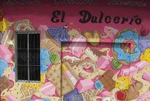 Graffiti / Trabajos de Graffiti por Bisho Sevillano