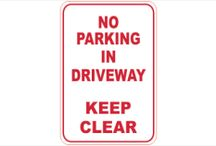 No Parking Signs at National Safety Signs