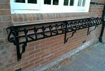 Iron Window boxes