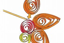 Paper twirling/quilling