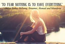 Inspirational Travel Quotes / Travel quotes that inspire the wanderlust in us all.