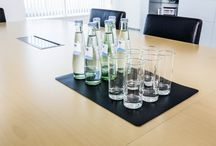Conference and meeting room accessories / Durable desk mats