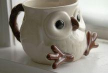 Coffee mugs art