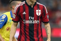 ac milan red and black