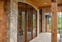 Make Your Entrance With Great Entryways / Make the entrance to your home inviting.  Customize your entrance along with our custom modular homes.