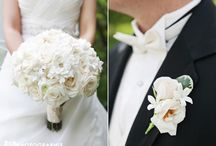 White and Ivory Flowers / White and Ivory designs by Sisters Floral Design Studio