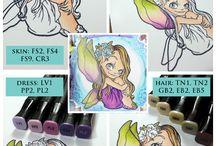 coloriages tutos / apprendre