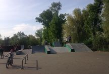Skate park / Parques de roller, bmx e skate pelo mundo.