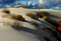 Deserts of the World / The shapes, textures, colors of deserts ... Great Sandy Desert (AUS), Kalahari, Libyan Desert (AFRICA), Namib Desert (Namibia - AFRICA), Oman (Egypt - AFRICA), Painted Desert (AZ), Sahara, Takla Makan Desert (CHINA), White Sands (NM), Thar Desert in Rajasthan, Jaisalmer (INDIA), Lencois Maranhenses (Northern Brazil)