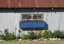 Ideas for Old Shutters / by Betty O'Steen
