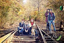 Railroad Family Photographs