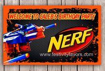 Kids Birthday Party Signs / Kids Birthday Party Signs, Kids Party Signs, Kids Birthday Welcome Signs, Personalized Party Signs, Kids Birthday Party Ideas