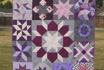 QuiltCon Charity Quilt Inspiration / Ideas and inspiration for our star sampler QuiltCon Charity Quilt.