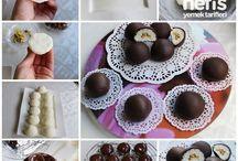 Çikolata toplar