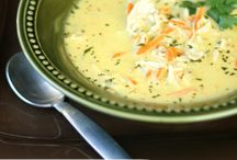 Soups - for a cold winters day