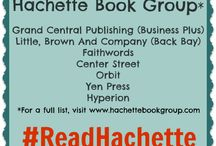 #ReadHachette / Add your favorite #ReadHachette titles here! Feel free to create your own board or ask to be added to this one. Keep it clean and relevant!  / by The Book Wheel