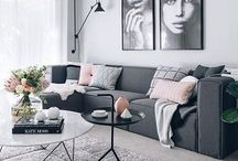 Home Decor: Living Room ;