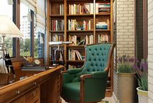 библиотека интерьер