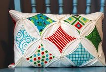 Quilted Pillows / My first quilting project was a quilted pillow. A fun project with instant gratification. I've been quilting ever since! Here are some pillow inspirations.