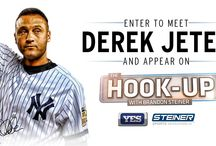 The Captain Collection / Celebrate New York Yankees shortstop Derek Jeter's final season by browsing our Captain Collection featuring exclusive game used items & autographed items. / by Steiner Sports